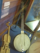 Mountie Banjo & Metis fiddle.
