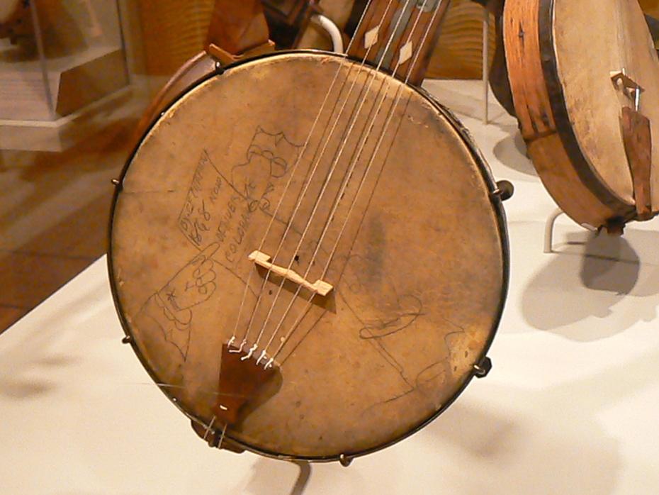Tambourine Banjo detail