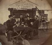 19th Century military/ Card game & musical instruments