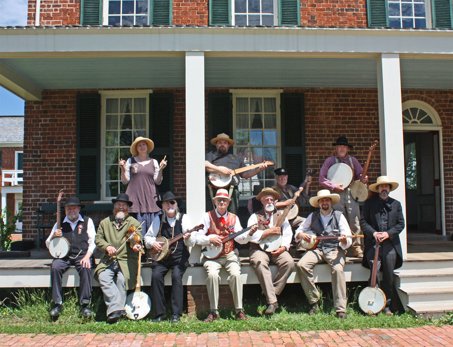2016 Sweeney Early Banjo Convergence Boligatory Groupshot