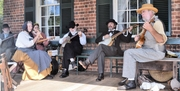 Sweeney banjos on Clover Hill Tavern Curtis playing