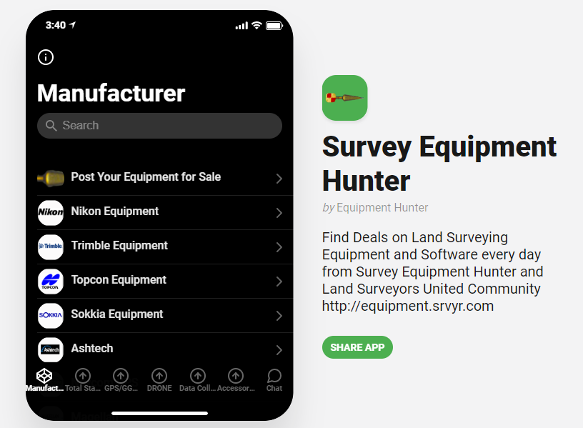 Find Best Deals on Surveying Equipment from the Field