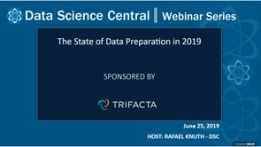 DSC Webinar Series: The State of Data Preparation in 2019