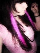 When I had my pink highlights