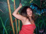in the jungle.. karyn gets drunk tonight.. @ the bam to the boo