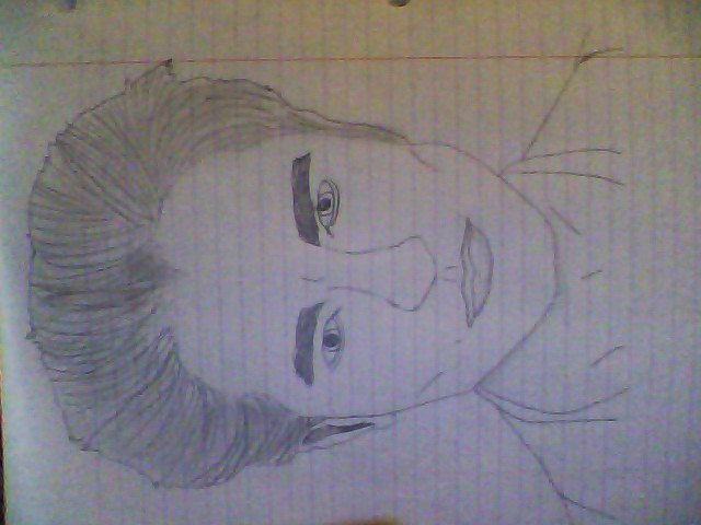 My Edward Cullen drawing