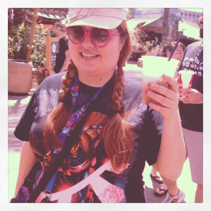 Me with Butterbeer
