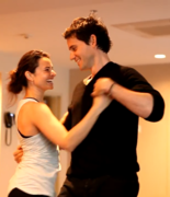 Dancing.. I could do forever with Eleazar.