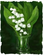 70668-Lily_of_Vally_with_vase_framed_sm