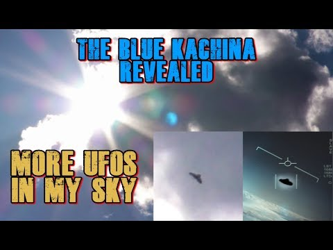 The Blue Kachina Revealed and More Incredible UFO Footage Captured Today 6/25/19