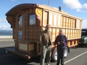 SingPeace wagon at Keystone Ferry, March 4, 2010