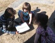 Kids practice BePeace