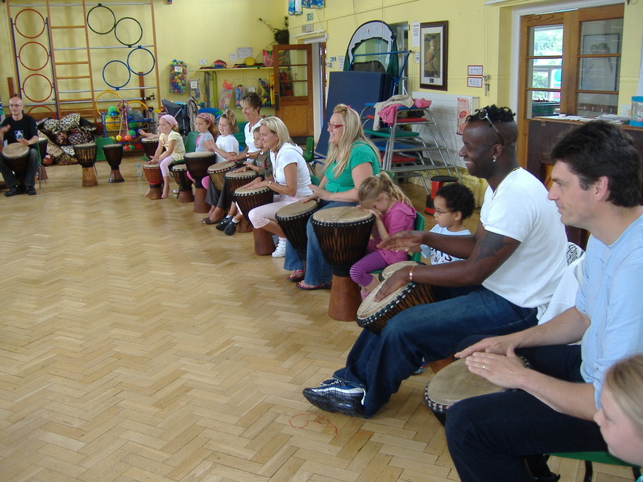 Family Drumming Event