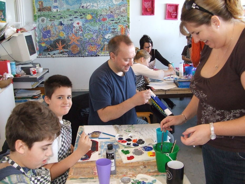 Family Art Workshop during half term