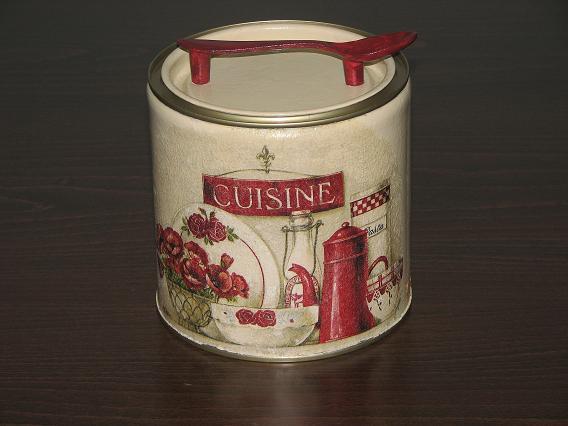 Μεταλλικό κουτάκι κουζίνας
