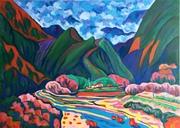 Bu-la-tan Hoa-lian  (2);布拉旦山棧山(2)