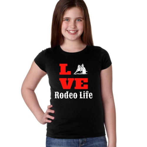 LOVE Rodeo Life Barrel Racer