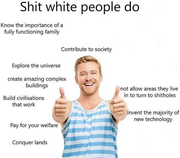 Things White People Do