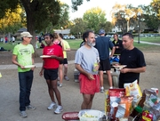 Ron, Mammen, Peter, Kirsten, Dave at PARC Summer BBQ 2013