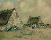 ernest-guerin-vieux-chaumes-bretons-1299855693772337