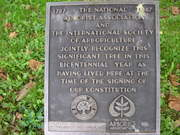 BrandyWine Battlefield Tree Marker