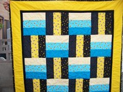Fence Rail Bee Quilt