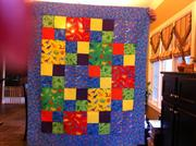 Boy Baby Quilt (front)