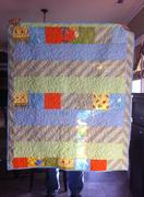 Alese quilt back