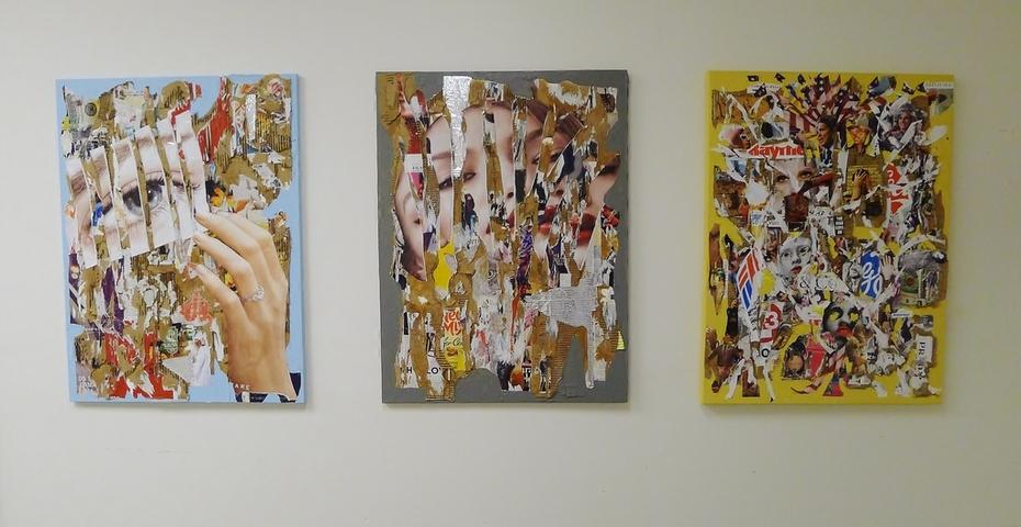 Scott Hawley's Art at Rv's studio
