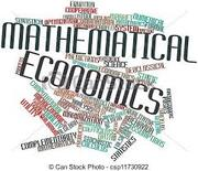 ECO406 Mathematical Econ…