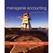 FIN704 Managerial Accounting
