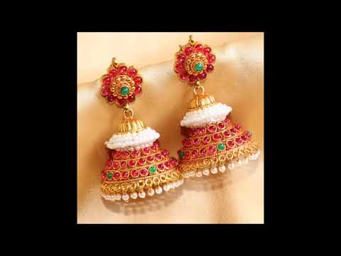 Best Collection of 1mg Gold Jhumka for Girls