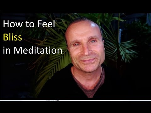 How to Feel Blissful in Meditation  | How to Meditate in Bliss (with Guided Meditation)