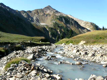 White Chuck R. headwaters