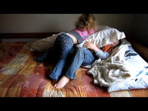 Corgi Sally plays with Tyler & Rachel 18Mar11.MOV