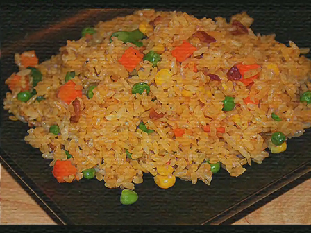 Arroz con vegetales con Chef Milani