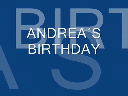 ANDREA´S BIRTHDAY