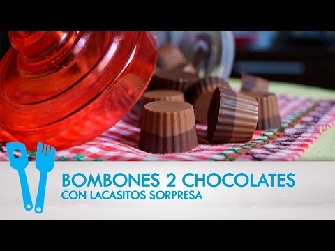 Bombones 2 Chocolates con Sorpresa de Lacasitos