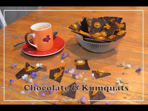Chocolate & kumquats