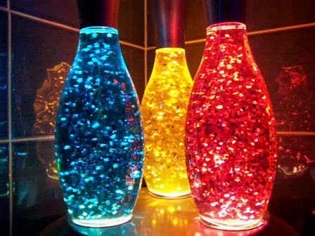 Skittle Lava Lamps