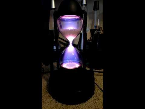Star showers plasma hourglass thing