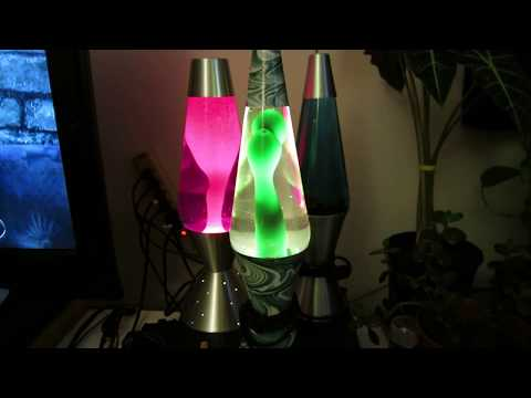 Lava Lamp #121D and #12 Swirl