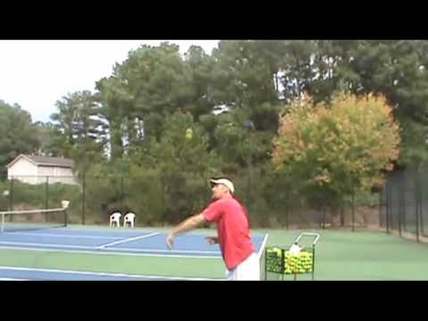 Tennis Tip From Pete and Skip: Great Serving Lesson