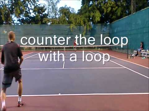 Singles Tactics:  Using the Killer Loop in Practice and Play