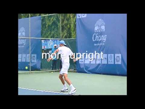 HD How to Hit your Forehand:  rotate your body for a better forehand