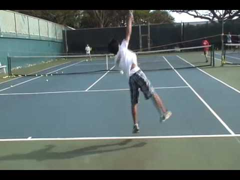 Tennis Lesson: Angle Rope Drill
