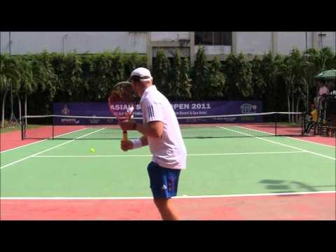 ITF Asia Open Singles Final Men's 35s:  Dan vs Dan pt 2