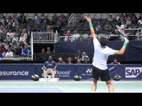 Milos Raonic's Serve Close Up, SloMo and Stop Action