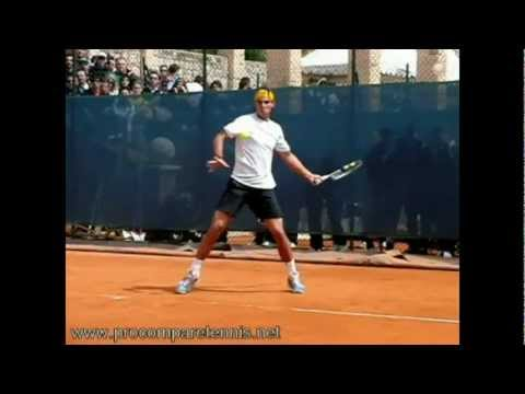 Lesson on Topspin Forehand Preparation