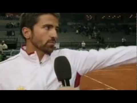 Stepanek gives middle finger to Tipsarevic? Watch End